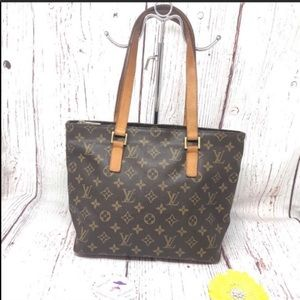 Louis Vuitton Monogram Cabas Piano Tote Bag